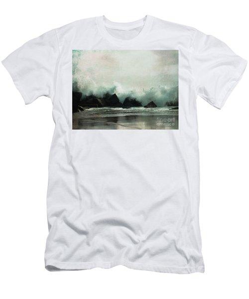 Venice Beach, California Men's T-Shirt (Athletic Fit)