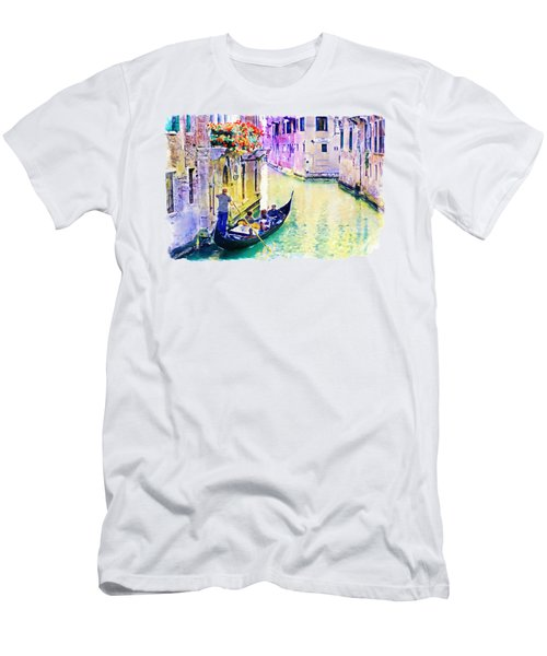 Venice Canal Men's T-Shirt (Athletic Fit)