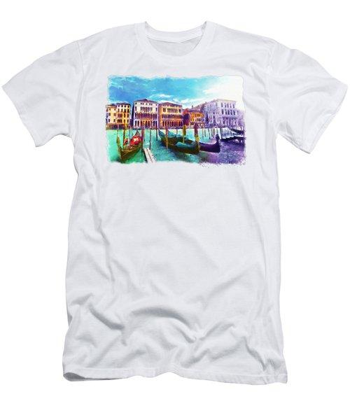 Venice Men's T-Shirt (Slim Fit) by Marian Voicu