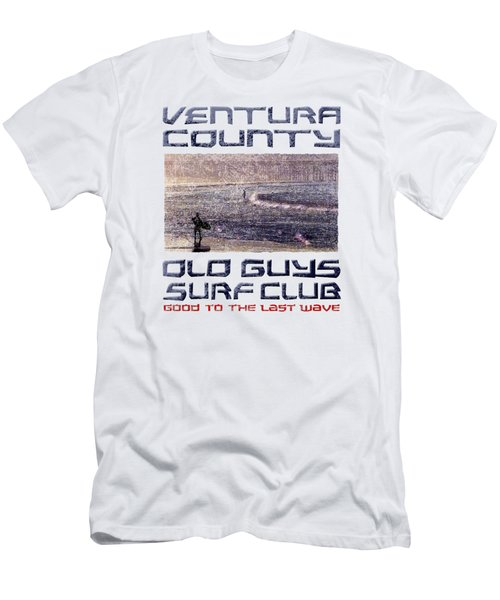 Ventura County Old Guys Surf Club Men's T-Shirt (Athletic Fit)