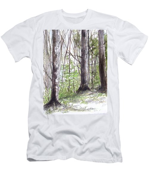 Vermont Woods Men's T-Shirt (Athletic Fit)