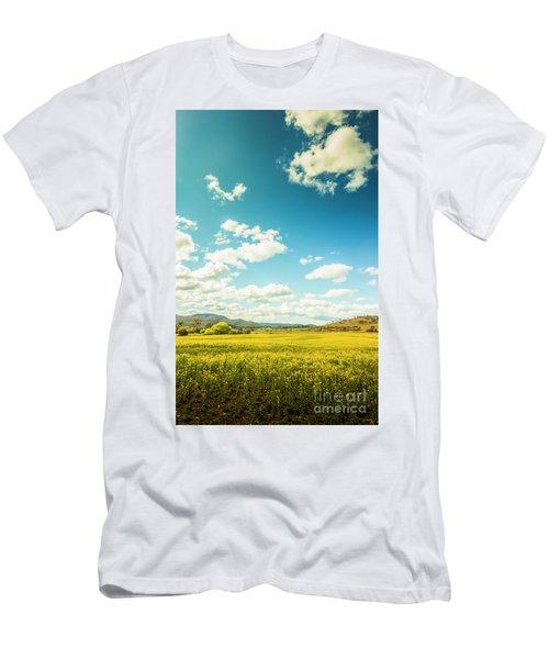 Vertical Plains Men's T-Shirt (Athletic Fit)