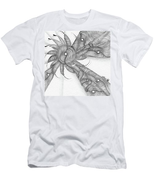 Men's T-Shirt (Athletic Fit) featuring the drawing Verve by Jan Steinle