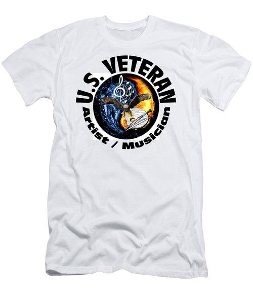 Veteran Artist And Musician Men's T-Shirt (Athletic Fit)
