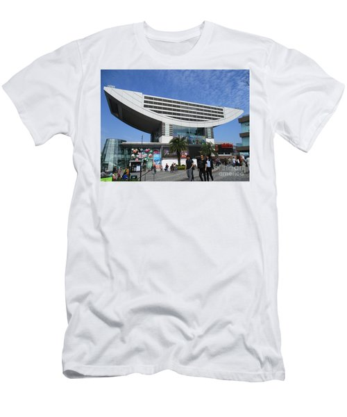 Men's T-Shirt (Slim Fit) featuring the photograph Victoria Peak 3 by Randall Weidner
