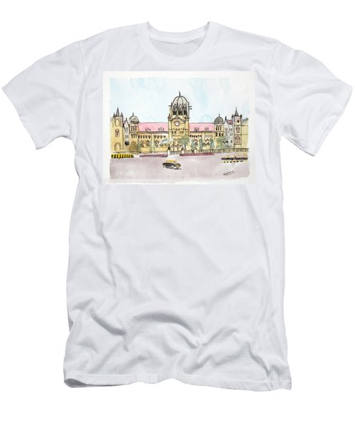 Victoria Terminus Men's T-Shirt (Athletic Fit)