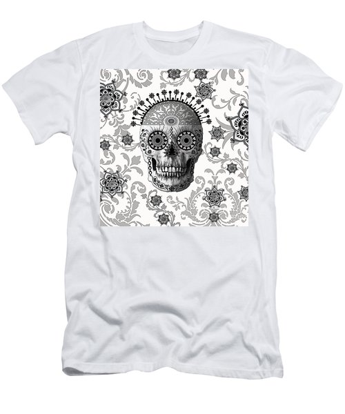 Victorian Bones Men's T-Shirt (Slim Fit) by Christopher Beikmann