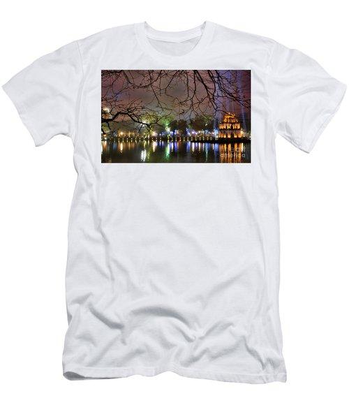 Vietnam Hoan Kiem Lake II Men's T-Shirt (Athletic Fit)
