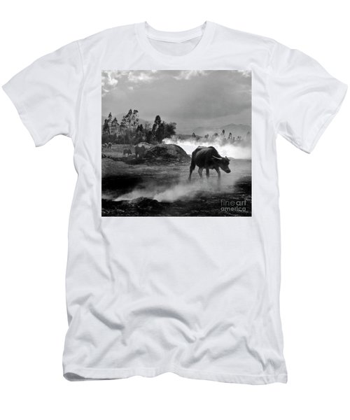 Vietnamese Water Buffalo  Men's T-Shirt (Athletic Fit)