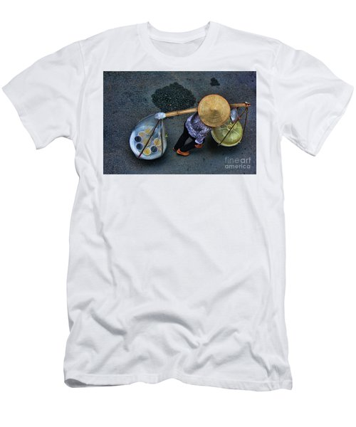 Vietnamese Woman Work Men's T-Shirt (Athletic Fit)