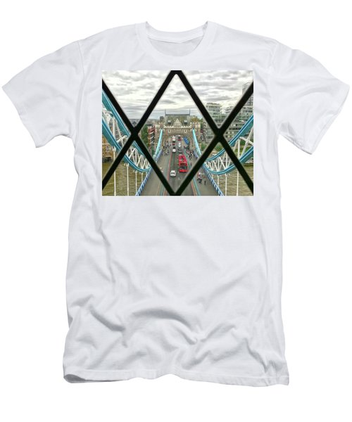 View From A Bridge Men's T-Shirt (Athletic Fit)
