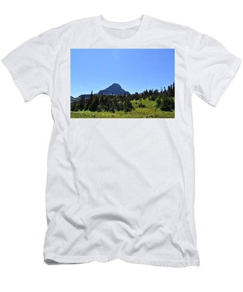 Men's T-Shirt (Slim Fit) featuring the photograph View From Logan's Pass by Dacia Doroff