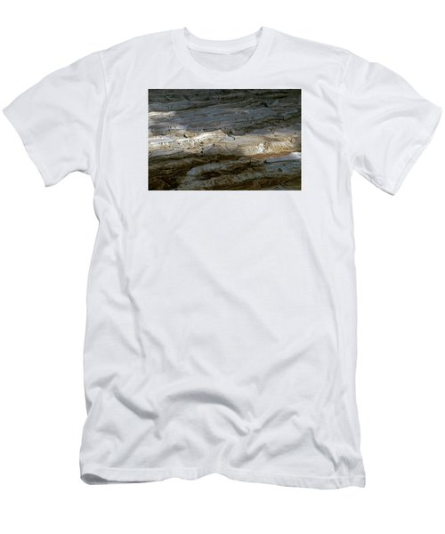 View From Masada Men's T-Shirt (Slim Fit) by Dubi Roman