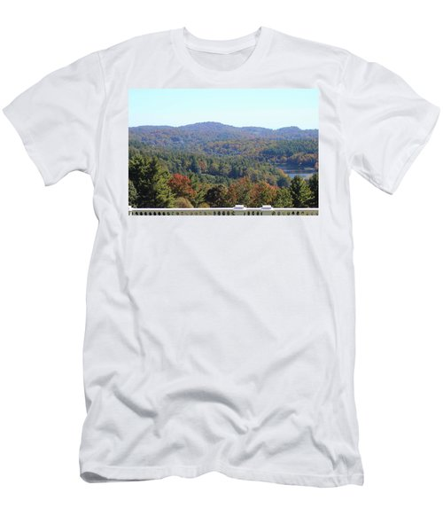 View From Moses Cone 2014c Men's T-Shirt (Athletic Fit)