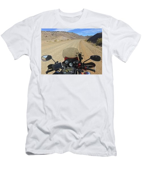 View From My Handlebars Buckhorn Wash Men's T-Shirt (Athletic Fit)
