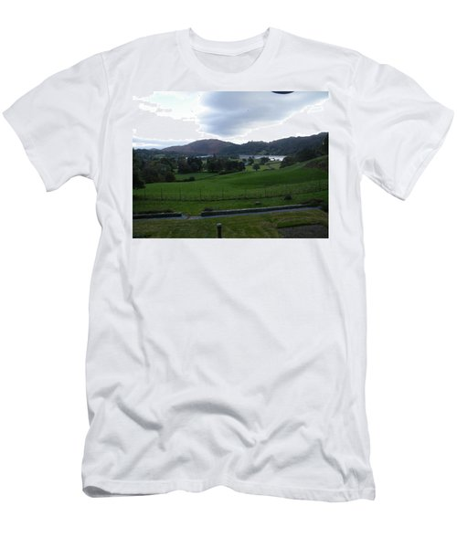 View Of The Lakes Men's T-Shirt (Athletic Fit)