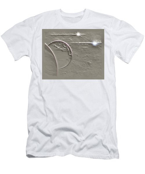 View To A Gray Universe Men's T-Shirt (Athletic Fit)