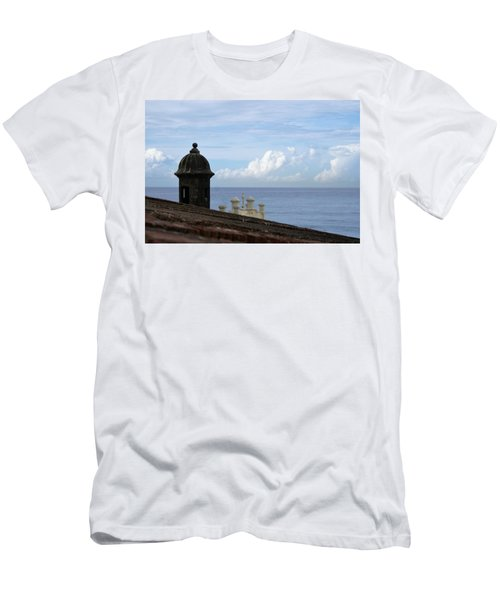 View To The Sea From El Morro Men's T-Shirt (Athletic Fit)