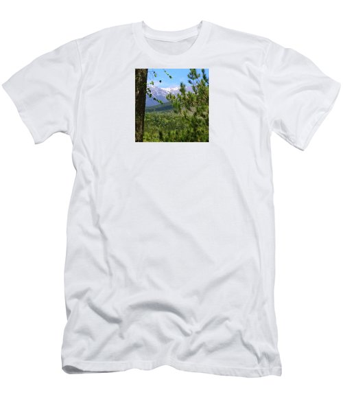 Men's T-Shirt (Slim Fit) featuring the photograph Views Of Katahdin by Robin Regan