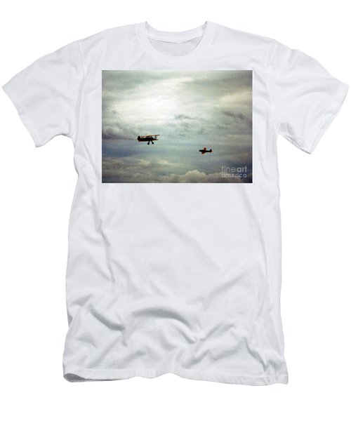 Vintage Airplanes Men's T-Shirt (Athletic Fit)