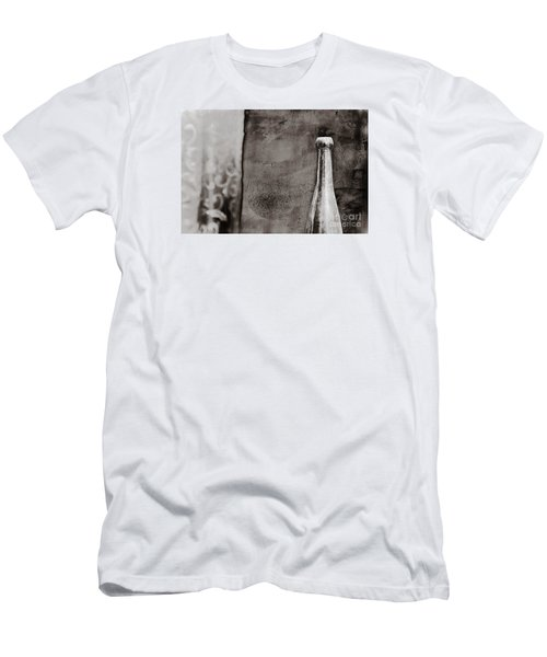 Men's T-Shirt (Slim Fit) featuring the photograph Vintage Beer Bottle by Andrey  Godyaykin