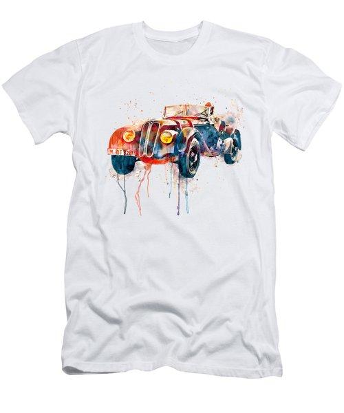 Vintage Driver  Men's T-Shirt (Athletic Fit)