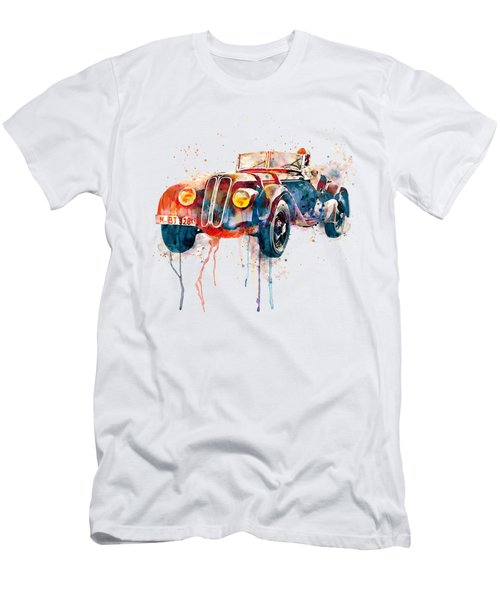 Vintage Driver  Men's T-Shirt (Athletic Fit)