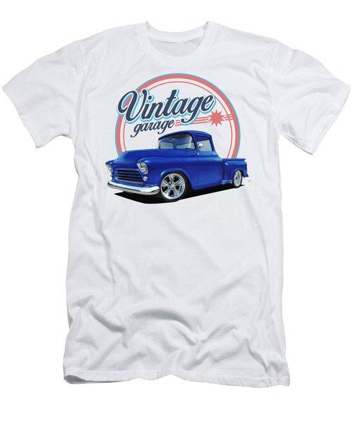 Vintage Candy Truck Men's T-Shirt (Athletic Fit)