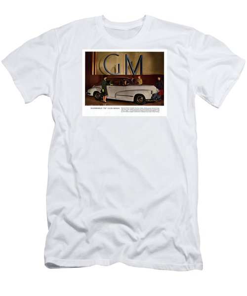 Vintage Car Ads Men's T-Shirt (Athletic Fit)