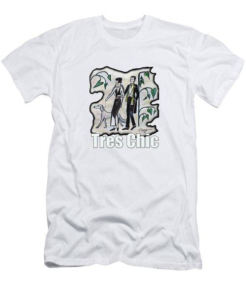 Vintage Fashion Tres Chic Men's T-Shirt (Athletic Fit)