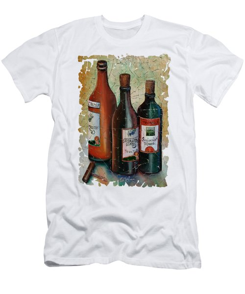 Vintage Georgian Wine Fresco Men's T-Shirt (Slim Fit) by Lena  Owens OLena Art