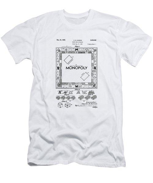 Vintage Monopoly Patent 1935 Men's T-Shirt (Athletic Fit)