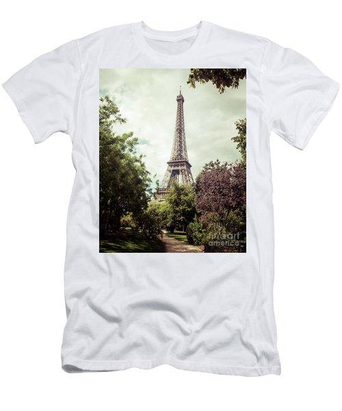 Vintage Paris Men's T-Shirt (Athletic Fit)