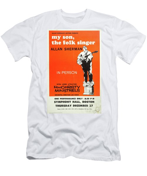 Vintage Poster My Son The Fold Singer Allan Sherman Men's T-Shirt (Athletic Fit)