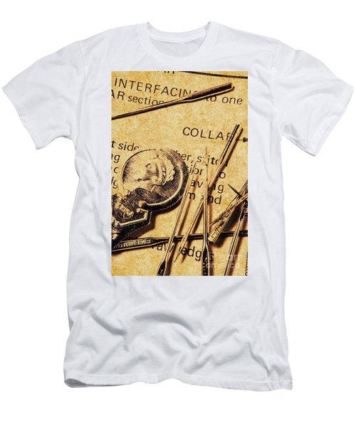 Vintage Quick Stitch Men's T-Shirt (Athletic Fit)