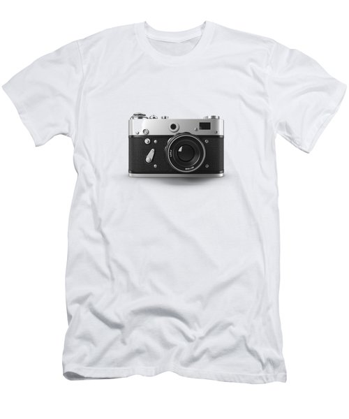 Vintage Rangefinder Camera Tee Men's T-Shirt (Athletic Fit)
