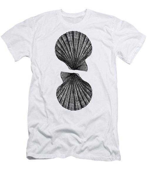 Vintage Scallop Shells Men's T-Shirt (Athletic Fit)