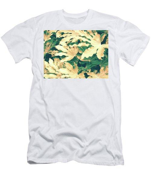 Vintage Season Gold Men's T-Shirt (Slim Fit) by Rebecca Harman