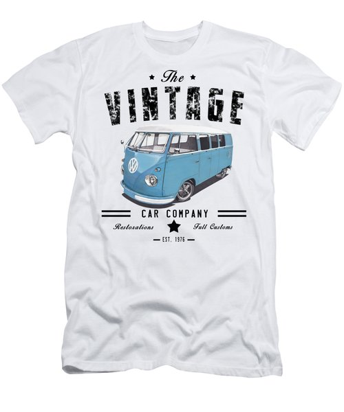 Vintage Transportation Men's T-Shirt (Athletic Fit)
