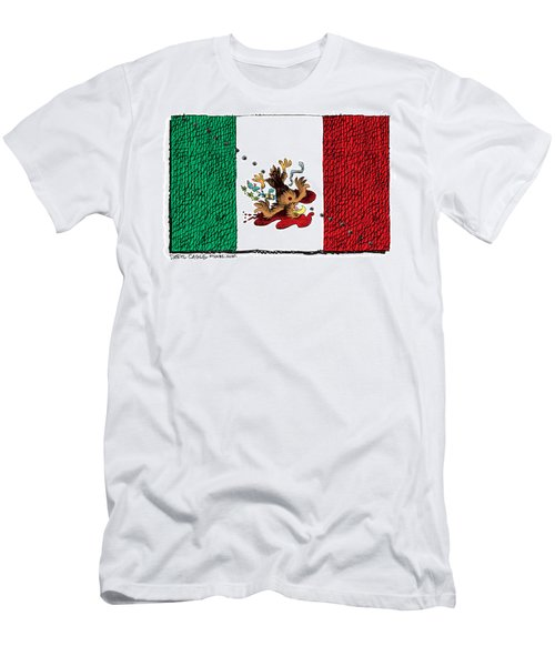 Violence In Mexico Men's T-Shirt (Athletic Fit)