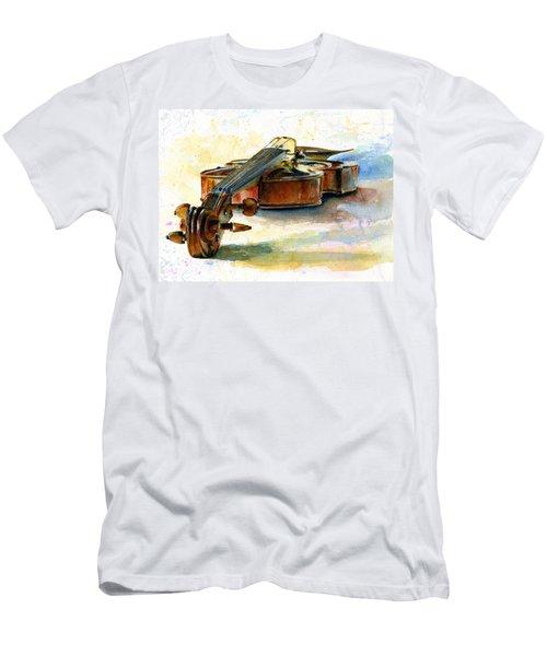Violin 2 Men's T-Shirt (Athletic Fit)