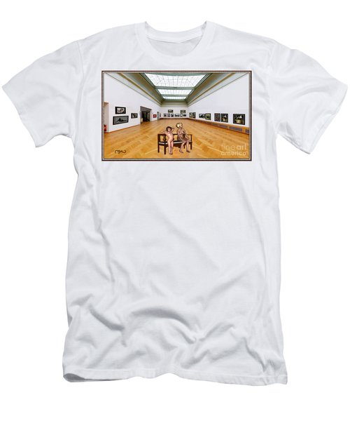 Virtual Exhibition - 32 Men's T-Shirt (Slim Fit) by Pemaro