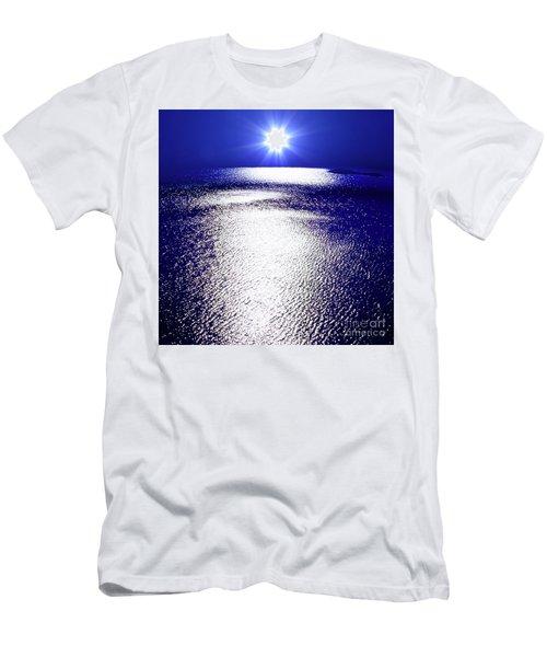 Men's T-Shirt (Slim Fit) featuring the photograph Virtual Sea by Tatsuya Atarashi