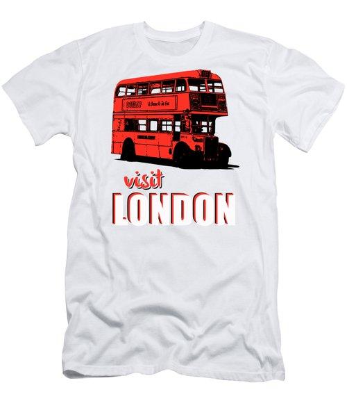 Visit London Tee Men's T-Shirt (Slim Fit) by Edward Fielding