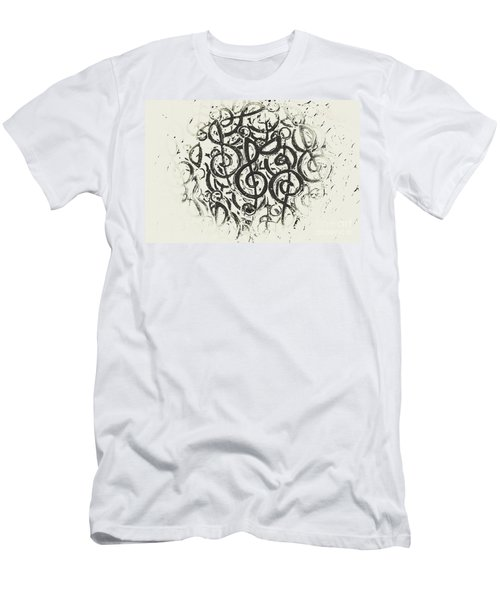 Visual Noise Men's T-Shirt (Athletic Fit)