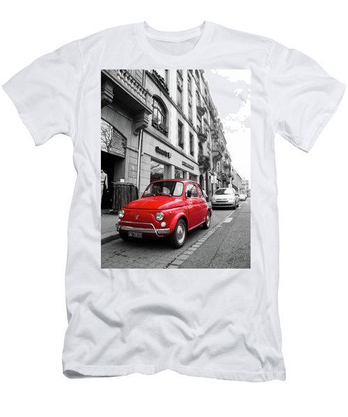 Voiture Rouge Men's T-Shirt (Athletic Fit)