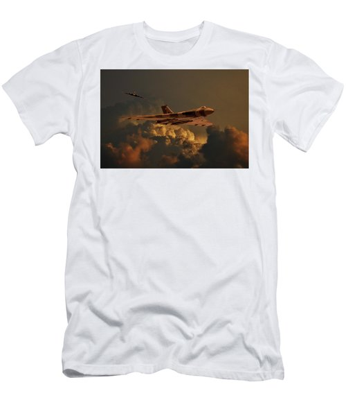 Vulcan Bombers Into The Storm Men's T-Shirt (Athletic Fit)