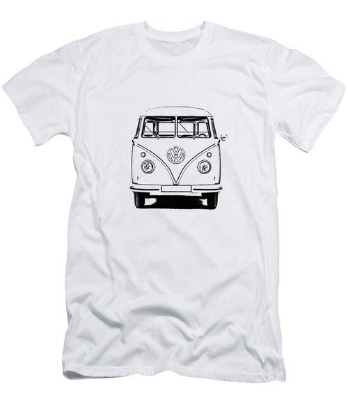 Bus  Men's T-Shirt (Athletic Fit)
