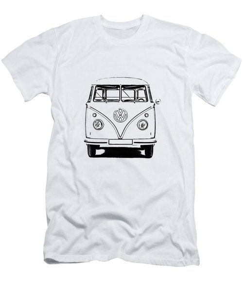 Vw Bus T-shirt Men's T-Shirt (Athletic Fit)