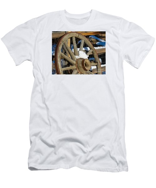 Wagon Wheel 1 Men's T-Shirt (Athletic Fit)